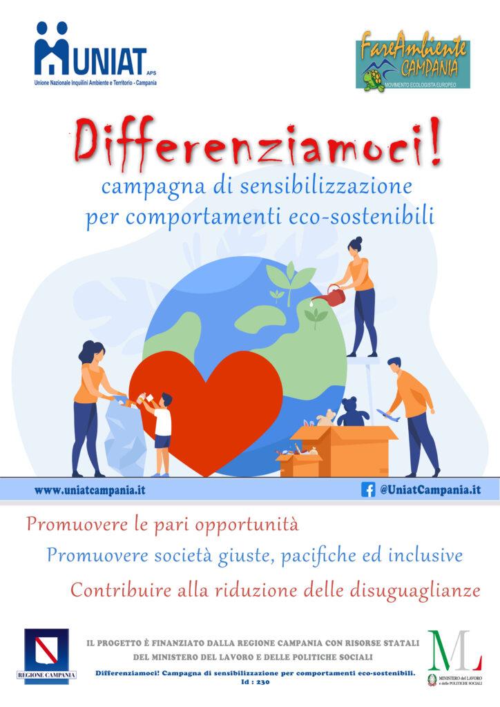 Progetto Differenziamoci - Campagna di sensibilizzazione per comportamenti eco-sostenibili