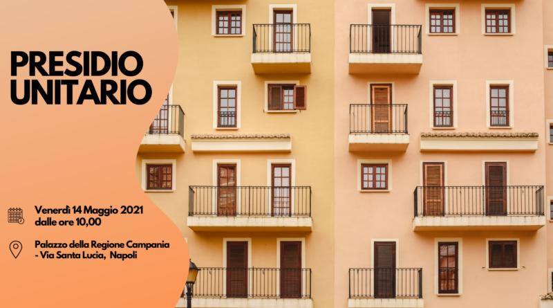 Presidio unitario a Napoli: la riforma dell'Edilizia Pubblica non decolla